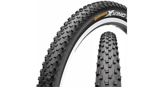 "Continental X-King 2.4 Opona Sport 27,5"" drut Skin czarny"
